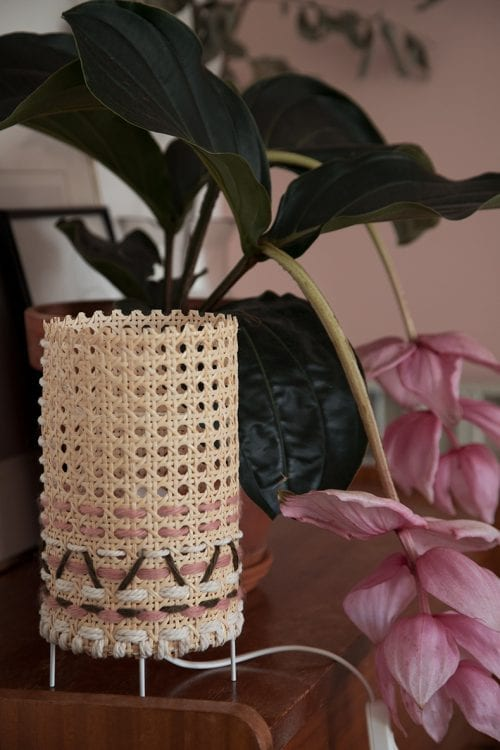 Top 20 DIY Lampshade Ideas to Lighten Up a Room featured by top US craft blog, The Crafty Blog Stalker: image of canning lamp