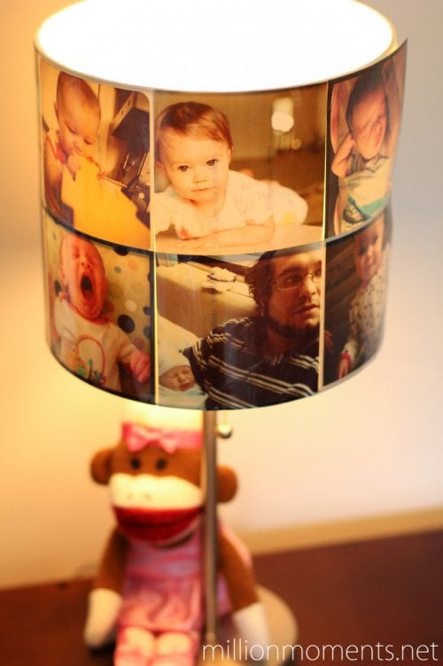 Top 20 DIY Lampshade Ideas to Lighten Up a Room featured by top US craft blog, The Crafty Blog Stalker: image of instagram lampshade