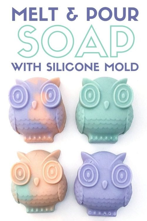 Melt and Pour Soap with a Mold