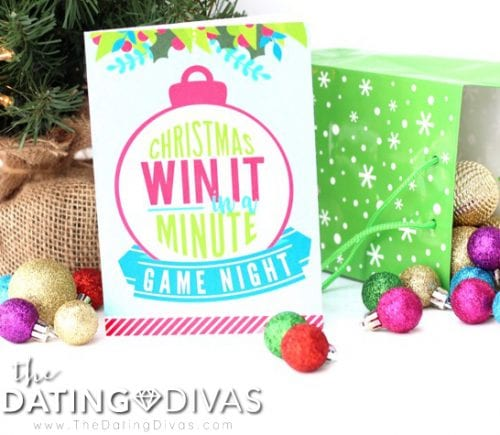 20 Super Fun Christmas Party Games for the Holidays featured by top US craft blog, The Crafty Blog Stalker: Christmas Win It in a Minute.