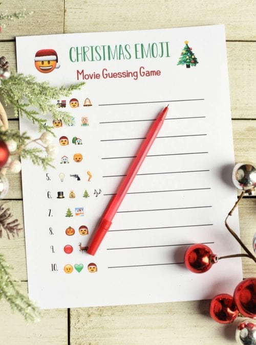 20 Super Fun Christmas Party Games for the Holidays featured by top US craft blog, The Crafty Blog Stalker: Christmas Movie Quizz.