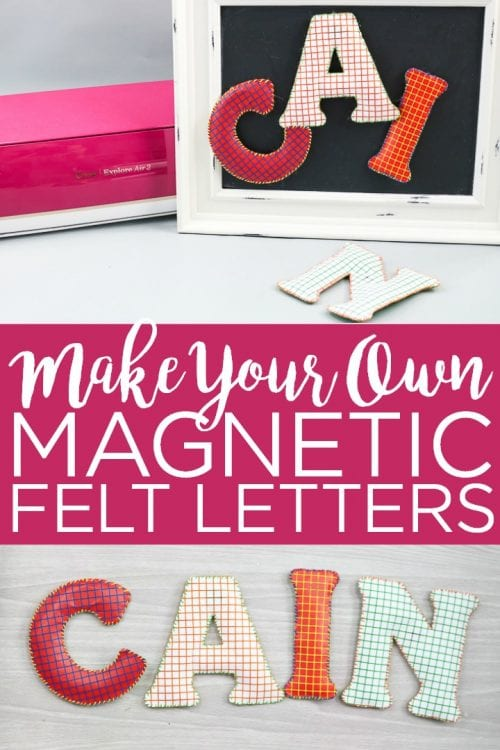 25 Cricut Personalized Gifts featured by top US craft blog, The Crafty Blog Stalker: personalized fridge magnets.