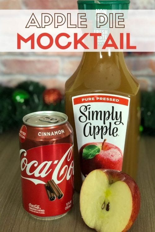 3 Festive Holiday Party Drinks & Mocktails, a tutorial featured by top US craft blog, The Crafty Blog Stalker: apple pie mocktail