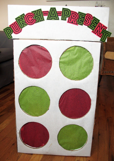 20 Super Fun Christmas Party Games for the Holidays featured by top US craft blog, The Crafty Blog Stalker: Punch a Present.