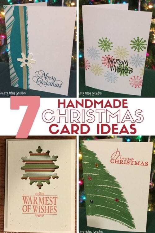 Remarkable 7 Handmade Christmas Card Ideas The Crafty Blog Stalker Funny Birthday Cards Online Alyptdamsfinfo