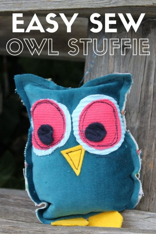 20 Fun Bird Crafts for Adults featured by top US craft blog, The Crafty Blog Stalker: Easy Owl Stuffies