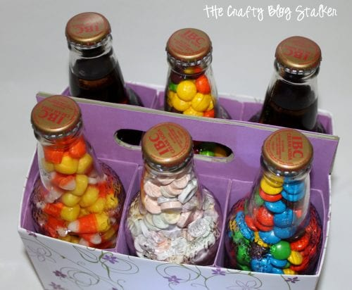 How to Make a 6 Pack of Treats, a tutorial featured by top US craft blog, The Crafty Blog Stalker.
