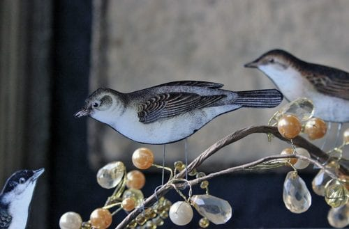 20 Fun Bird Crafts for Adults featured by top US craft blog, The Crafty Blog Stalker: Perching Birds