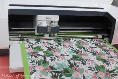 Schnittmusterpapier auf Cricut Maker