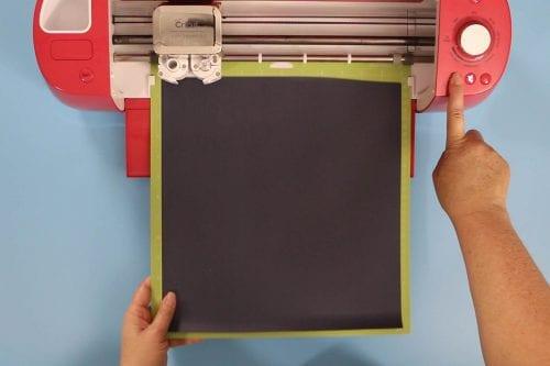 cutting iron-on vinyl on a cricut explore air 2
