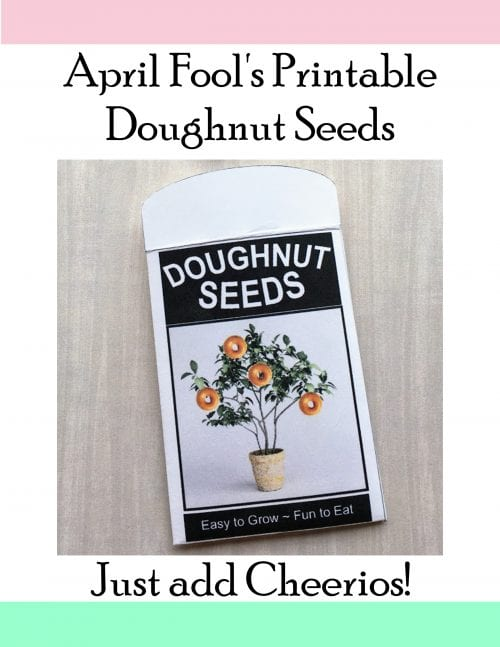 17 Crafty DIY April Fools Day Pranks featured by top US craft blog, The Crafty Blog Stalker: Doughnut Seeds