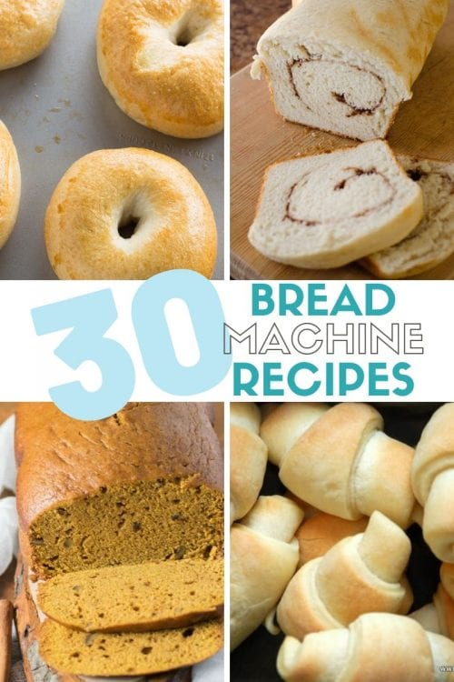 30 Delicious Bread Maker Recipes, recipes featured by top US craft blog, The Crafty Blog Stalker.