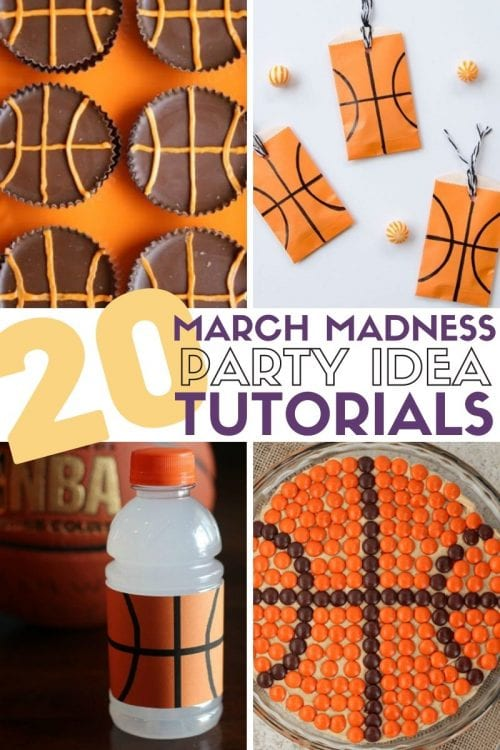 20 March Madness Party Ideas: Food, Games, and Decorations, featured by top US craft blog, The Crafty Blog Stalker.