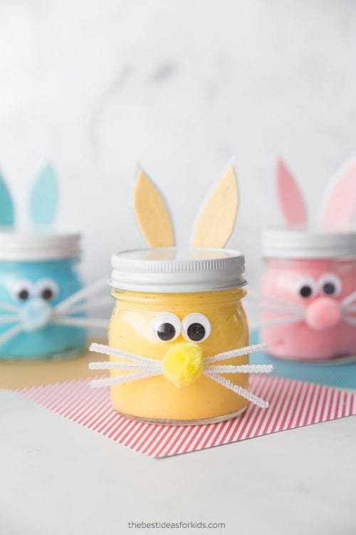 Twelve Fun Easter Crafts featured by top US craft blog, The Crafty Blog Stalker: Bunny Slime