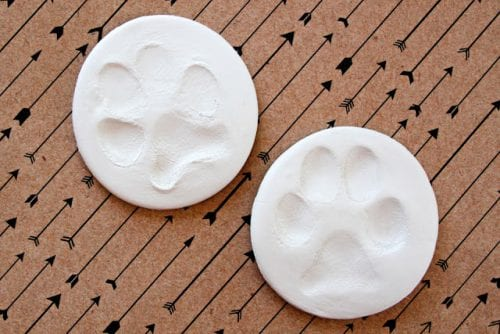 20 DIY Crafts for Dogs featured by top US craft blog, The Crafty Blog Stalker:  DIY Dog Prints