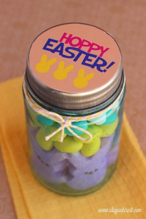 Hoppy Easter Treat Jar