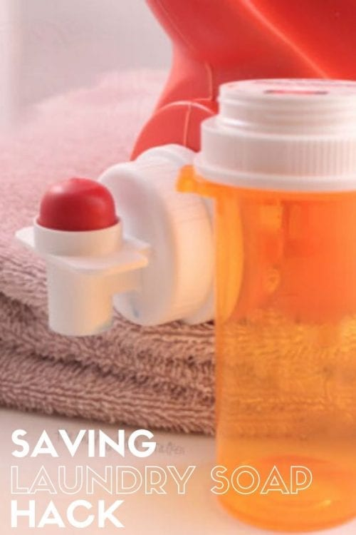 How to Save Laundry Detergent, a hack featured by top US craft blog, The Crafty Blog Stalker.