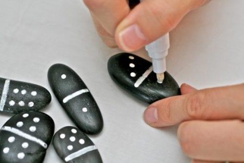Pebble Domino Game