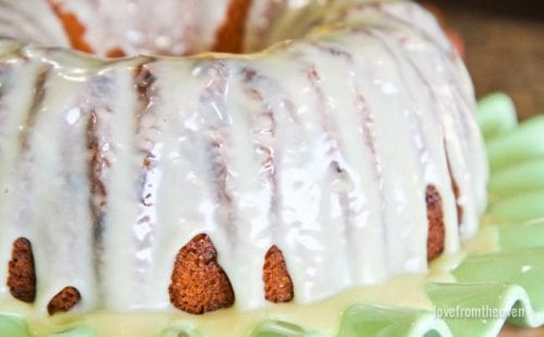 20 White Chocolate Recipes You Need To Try featured by top US craft blog, The Crafty Blog Stalker: White Chocolate Bundt Cake