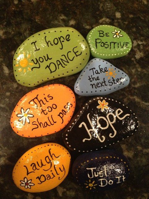 20 of the Best Painted Rock Art Ideas, You Can Do! featured by top US craft blog, The Crafty Blog Stalker: Magic Rocks