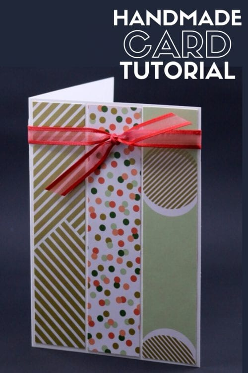 How to Make Any Occasion Handmade Card, a tutorial featured by top US craft blog, The Crafty Blog Stalker.