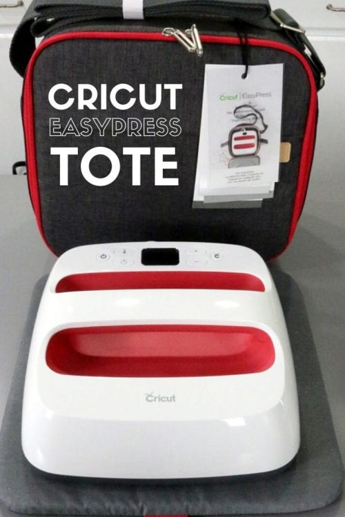 The Cricut EasyPress Tote for Storage and On the Go, featured by top US craft blog, The Crafty Blog Stalker.