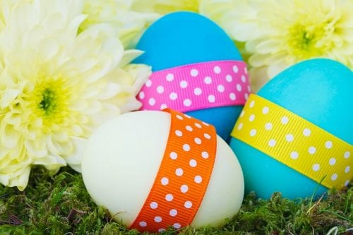 Twelve Fun Easter Crafts featured by top US craft blog, The Crafty Blog Stalker: Easter Egg Rattles