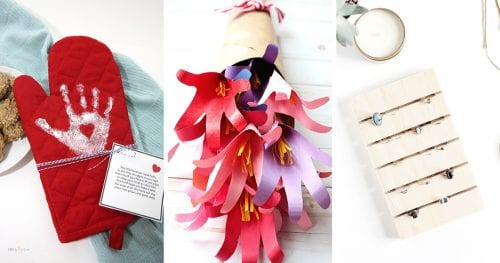 20 Easy Handmade Gifts for Mom on Mother's Day, featured by top US craft blog, The Crafty Blog Stalker.