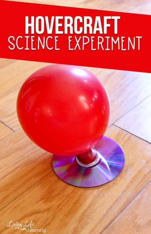 20 Fun Science Crafts for Kids you can Make at Home, featured by top US craft blog, The Crafty Blog Stalker: Hovercraft Science Experiment