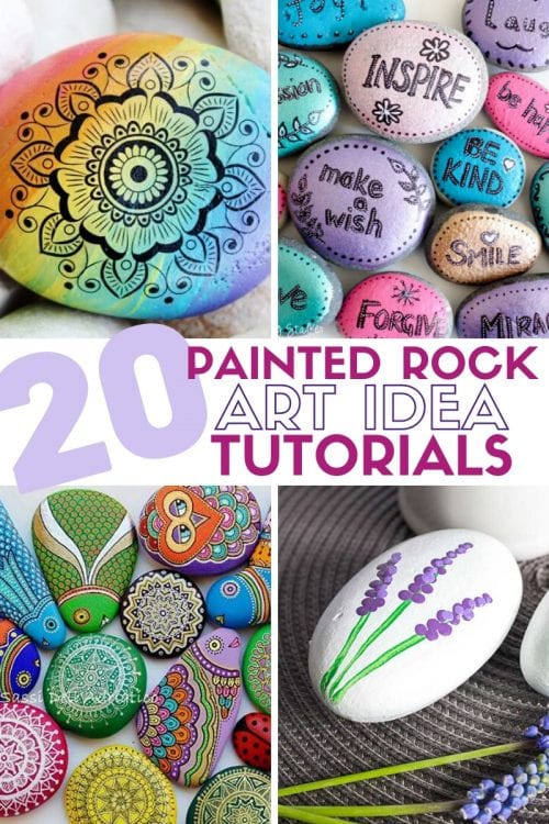 20 of the Best Painted Rock Art Ideas, You Can Do! featured by top US craft blog, The Crafty Blog Stalker.