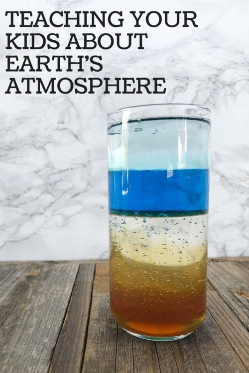 20 Fun Science Crafts for Kids you can Make at Home, featured by top US craft blog, The Crafty Blog Stalker: Teaching Your Kids About The Earth's Atmosphere
