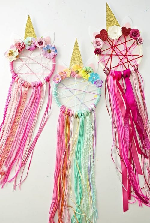 Unicorn Dream Catchers