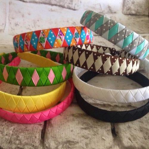Ribbon Woven Headbands