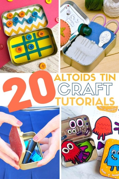 20 Amazing Things to do with an Altoids Tin, featured by top US craft blog, The Crafty Blog Stalker.