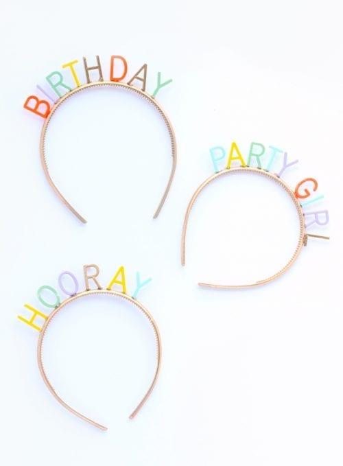 Birthday Party Headbands