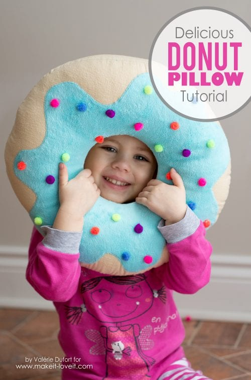Delicious Donut Pillow