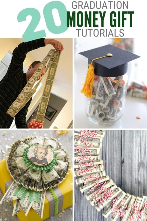 title image for 20 Cute Graduation Money Gift Ideas