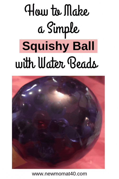 Simply Squishy Ball with Water Beads
