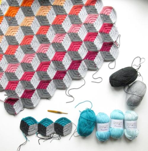 Geo-hexie Crochet Pattern