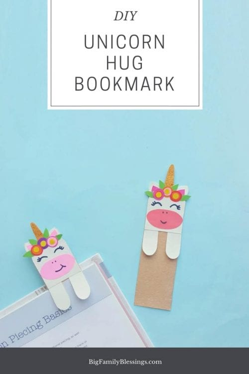 Unicorn Hug Bookmarks