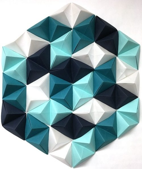 Geometric Paper Wall Art
