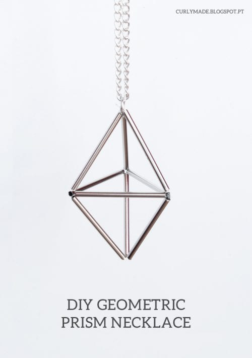 Geometric Prism Necklace