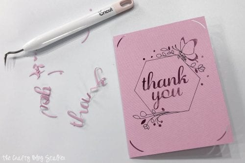 How to Make 3 Little Cricut Joy Projects, a Cricut tutorial featured by top US craft blog, The Crafty Blog Stalker.