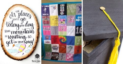 20 Handmade DIY Graduation Gifts, featured by top US craft blog, The Crafty Blog Stalker.