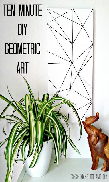 The Simplest Geometric Art