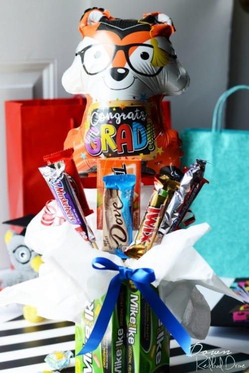 20 Handmade DIY Graduation Gifts, featured by top US craft blog, The Crafty Blog Stalker: Graduation Candy Bouquet