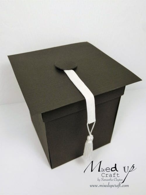 20 Handmade DIY Graduation Gifts, featured by top US craft blog, The Crafty Blog Stalker: Graduation Explosion Gift Box