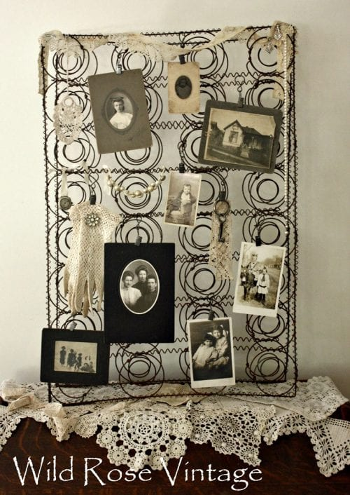 Vintage Spring Bulletin Board