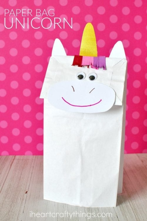 Paper Bag Unicorn