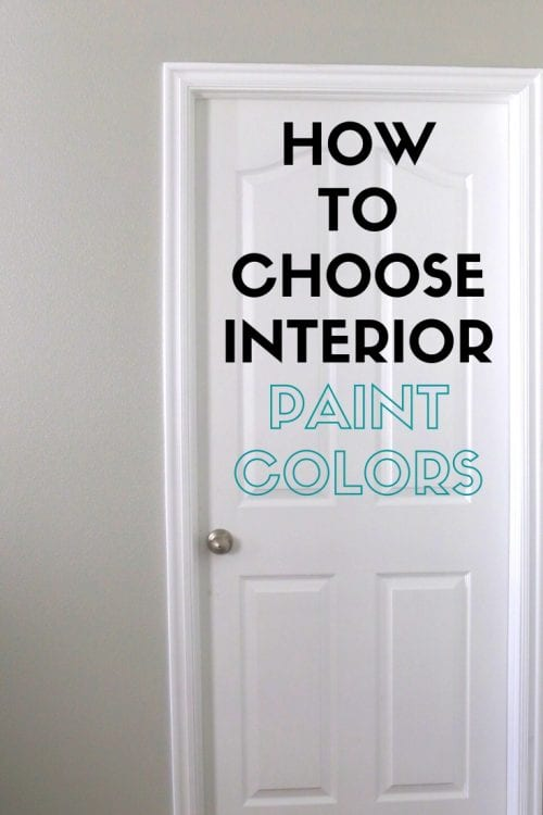 How to Choose Paint Colors for Your Home Interior, featured by top US craft blog, The Crafty Blog Stalker.